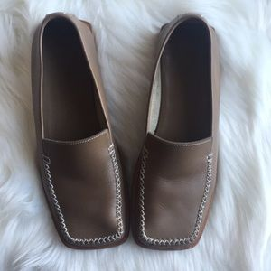 "Vintage Louis Vuitton Leather Loafers ""36.5"""